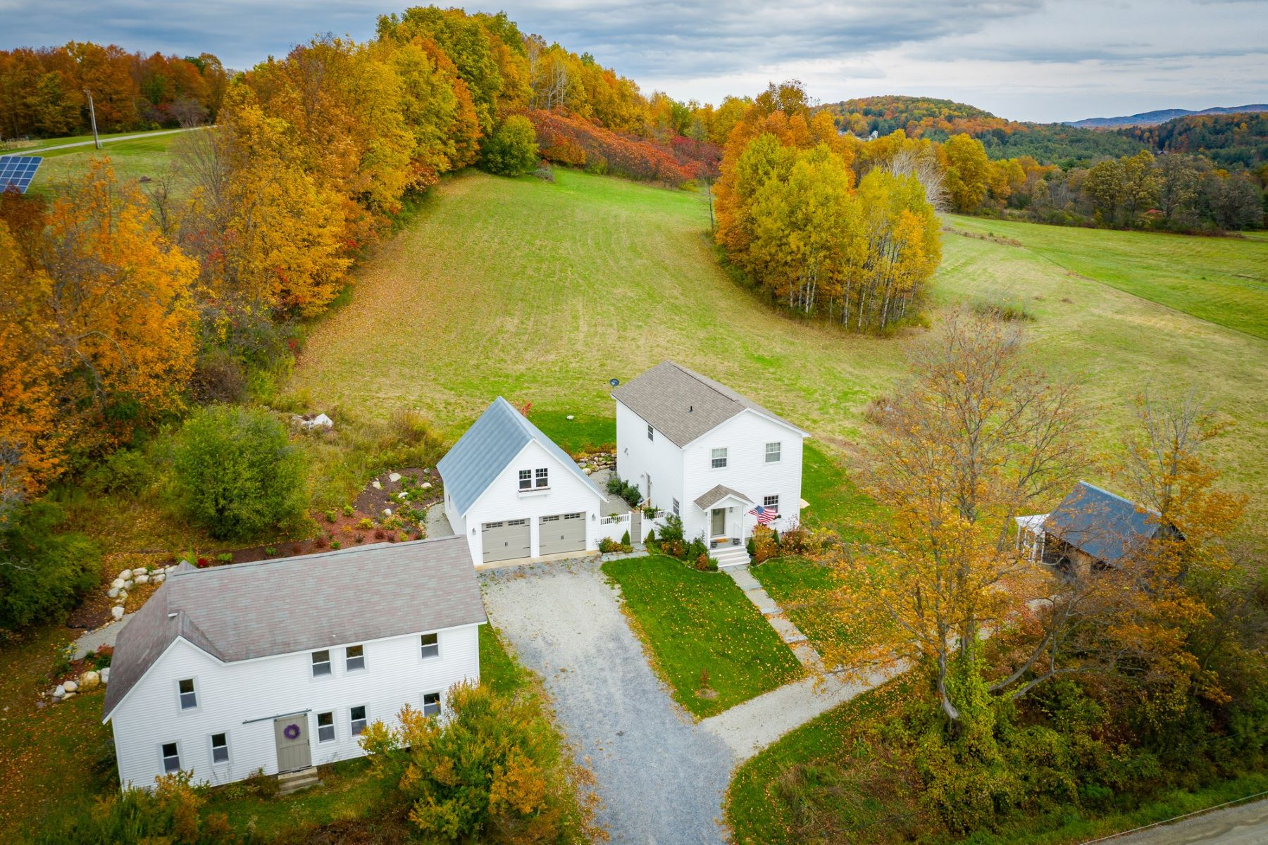 Single Family Homes for Sale at Vermont Farmhouse 1092 Roscoe Road Charlotte, Vermont 05445 United States