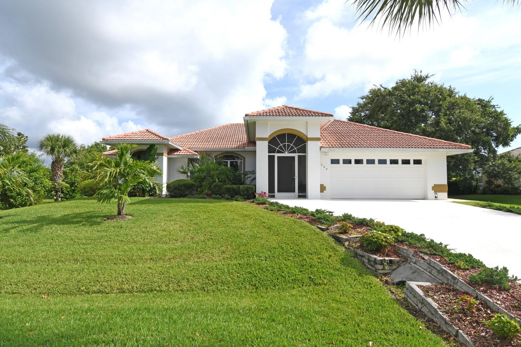 Nhà ở một gia đình vì Bán tại Riverview Estates at Copeland's Landing 3260 73rd Place Vero Beach, Florida, 32967 Hoa Kỳ