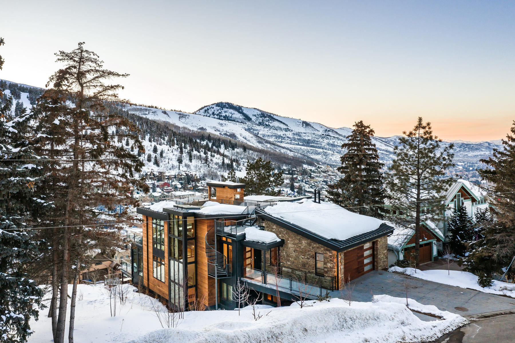 Single Family Homes for Sale at Architectural Wonder In Park City's Old Town 331 McHenry Ave Park City, Utah 84060 United States