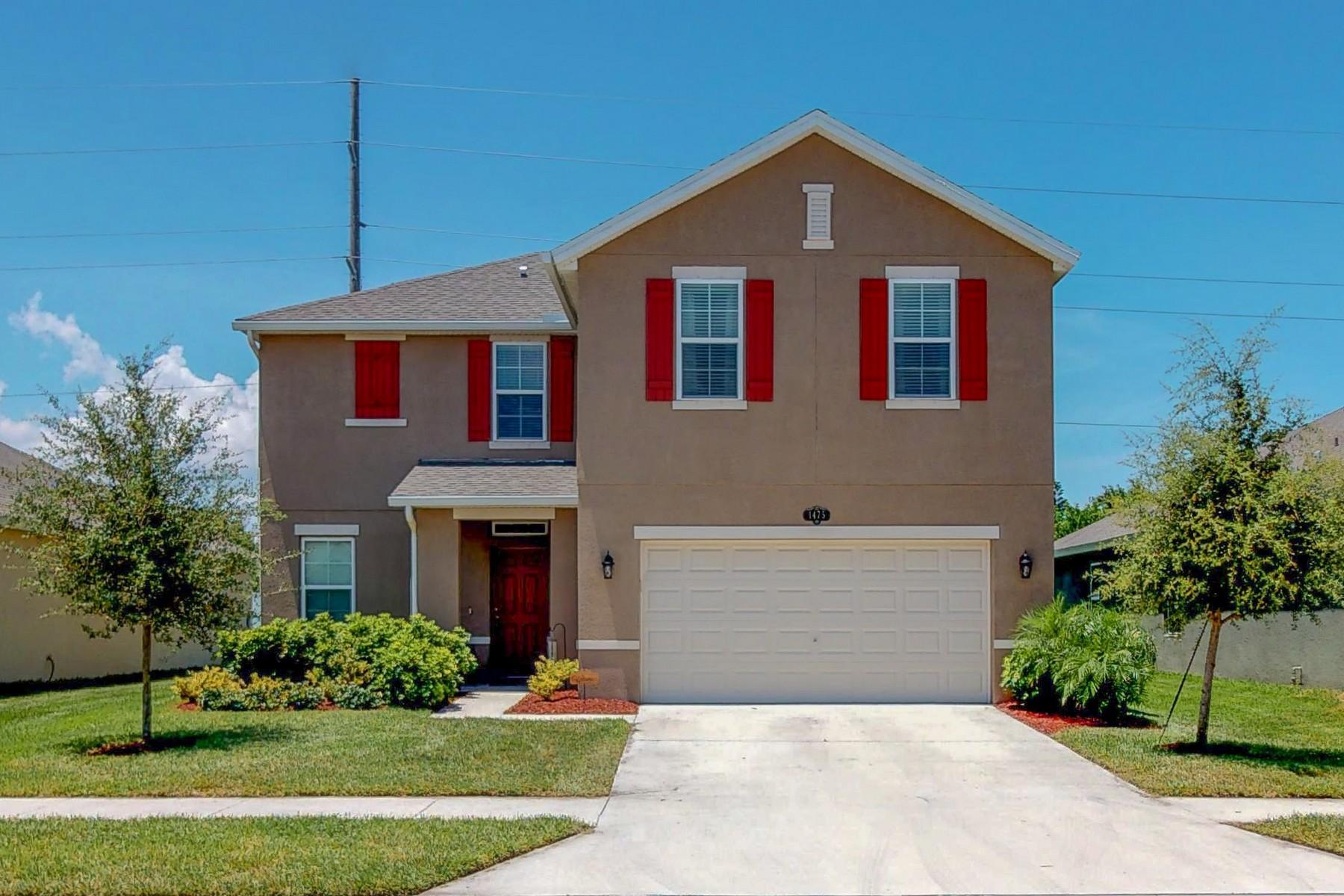 단독 가정 주택 용 매매 에 Why Build, Two Years New in Great Location 1475 Lexington SQ SW Vero Beach, 플로리다 32962 미국