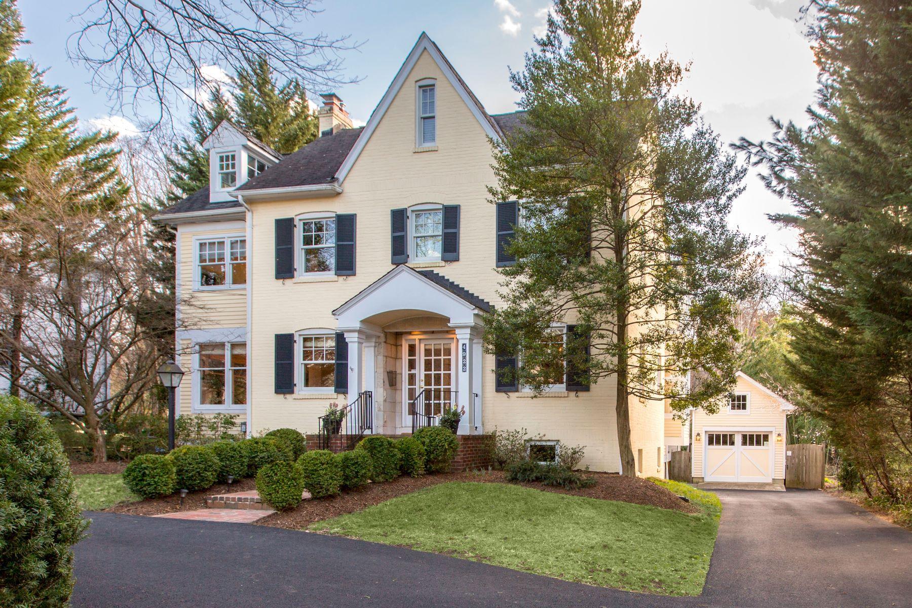 獨棟家庭住宅 為 出售 在 4922 Dorset Avenue, Chevy Chase Chevy Chase, 馬里蘭州, 20815 美國