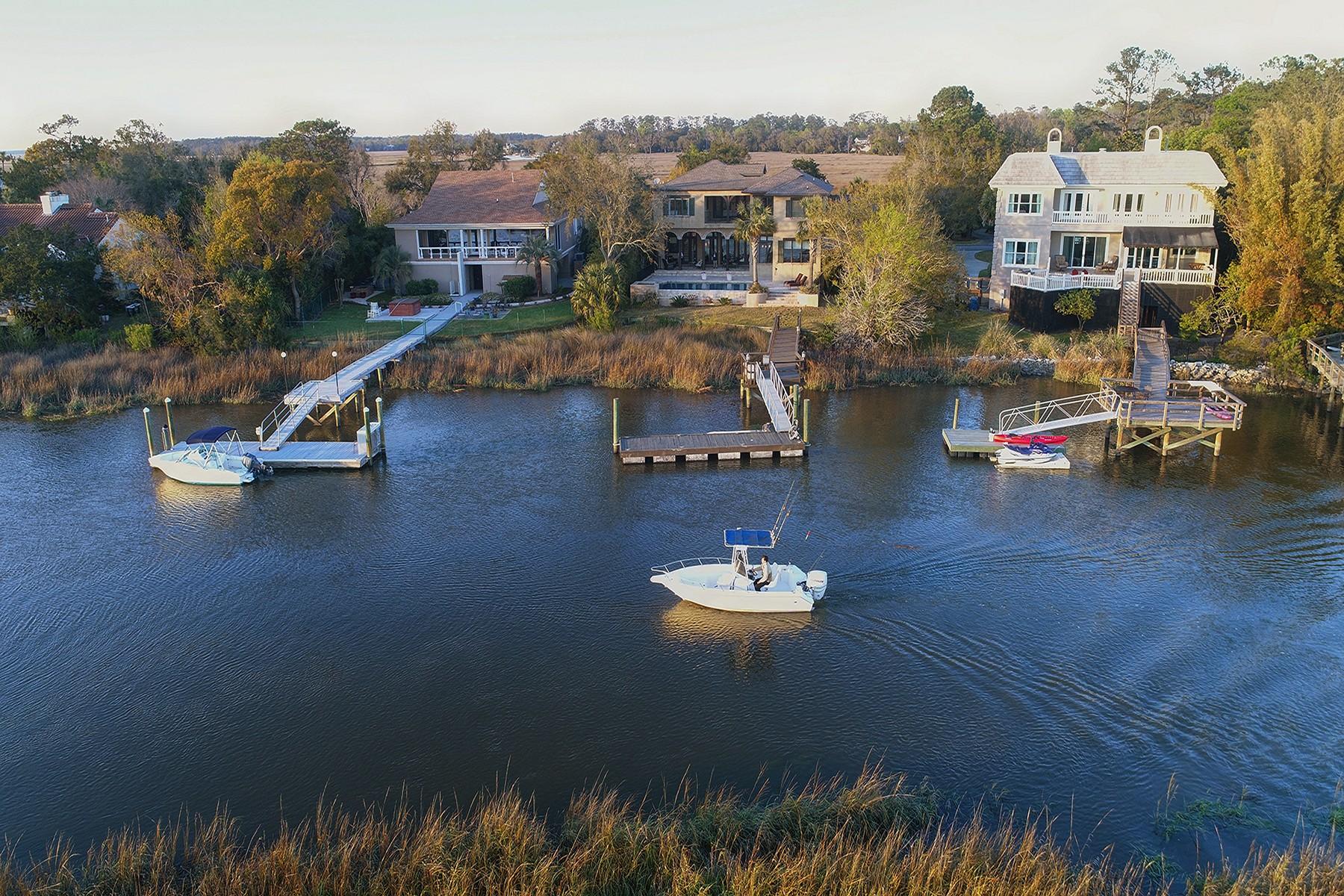 独户住宅 为 销售 在 6 Dunbar Creek 6 Dunbar Creek Point, 圣西蒙岛, 乔治亚州, 31522 美国