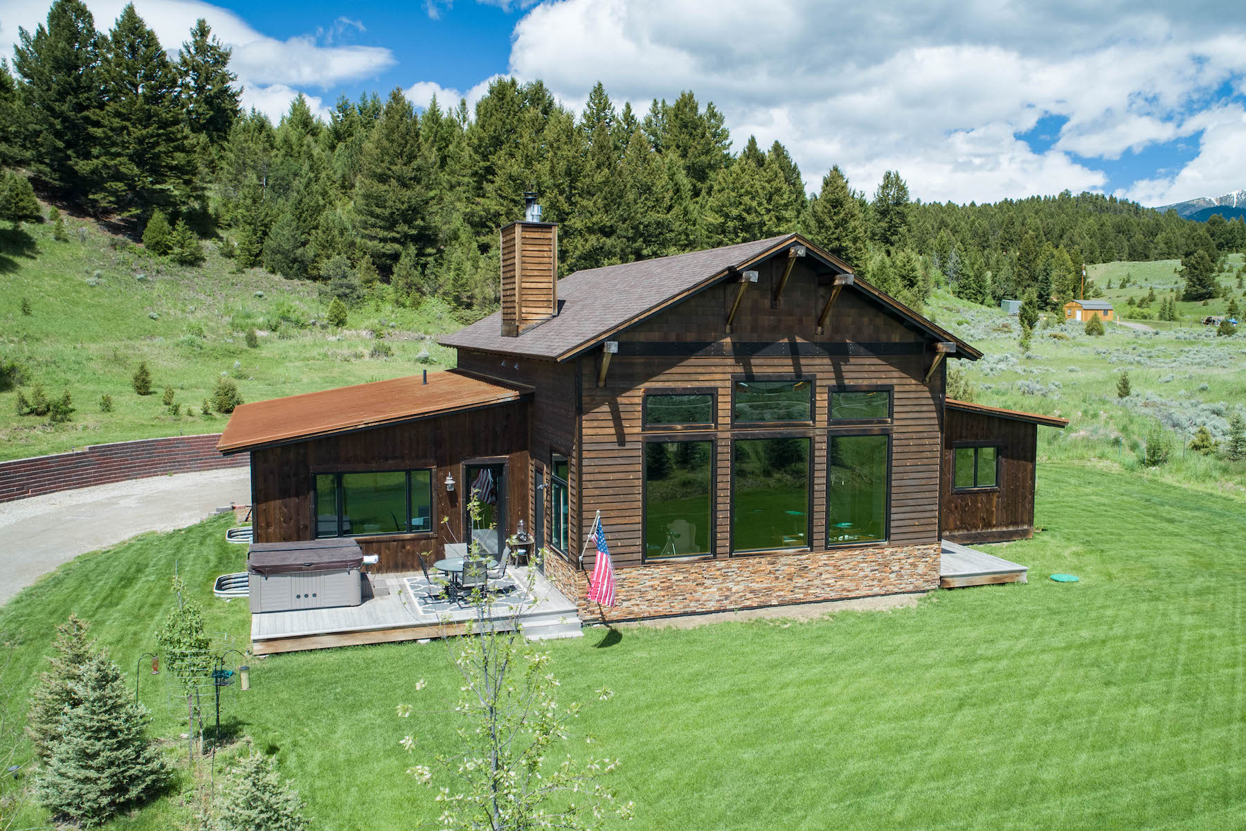Single Family Homes for Sale at 287 Windy Pass Trail Big Sky, Montana 59716 United States