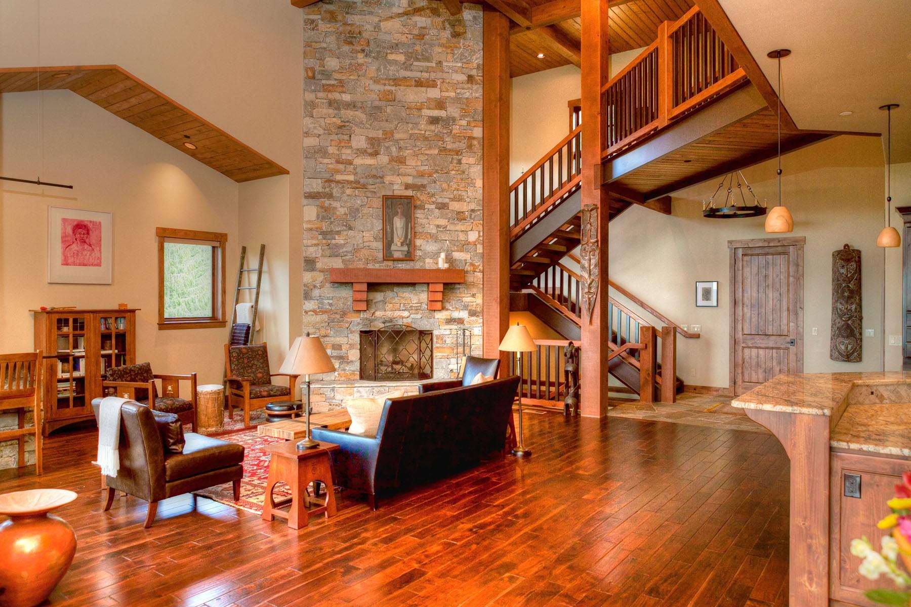 Nhà ở một gia đình vì Bán tại Private Idaho Club Property 32 Greatwater Circle Sandpoint, Idaho, 83864 Hoa Kỳ