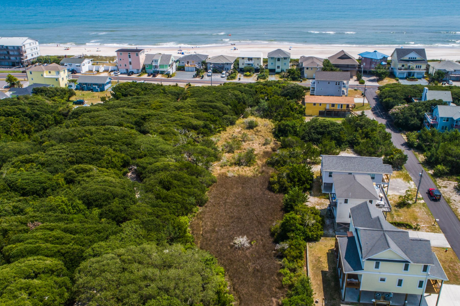 Land for Sale at Build Your Retreat on this Soundfront Property TBD N Anderson Blvd Topsail Beach, North Carolina 28445 United States