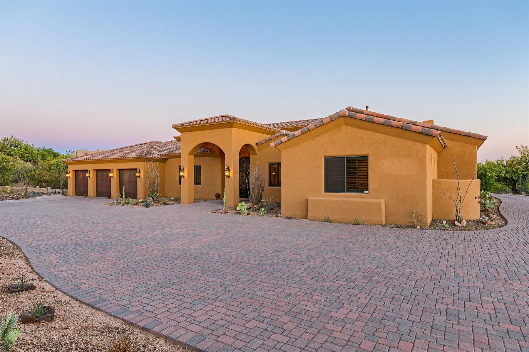 獨棟家庭住宅 為 出售 在 Lovely custom built home in Rancho Santa Fe Del Oro 10958 E Taos Dr Scottsdale, 亞利桑那州, 85262 美國