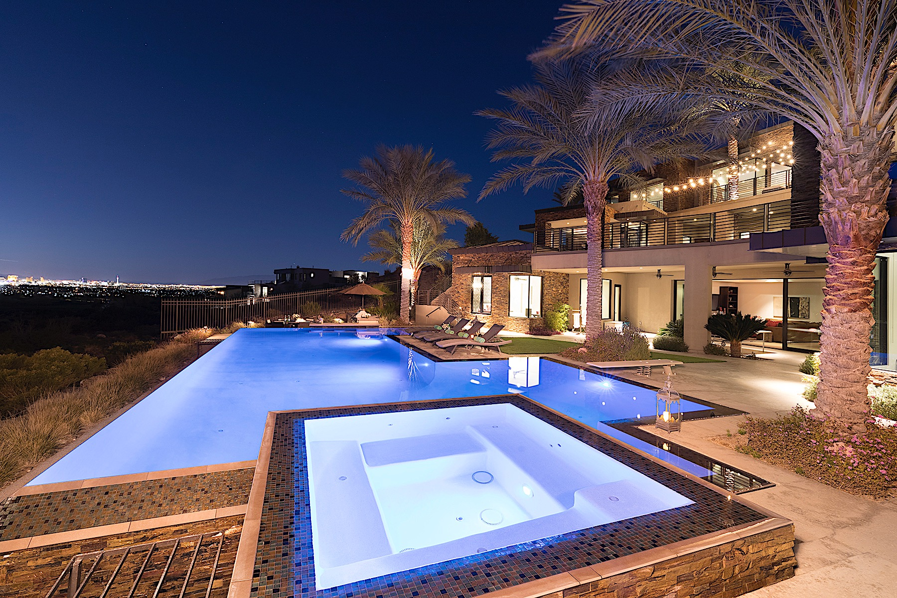 Modern Panorama Estate in Double Guard Gated Macdonald Highlands 591 Lairmont Place Henderson, Nevada 89012 United States