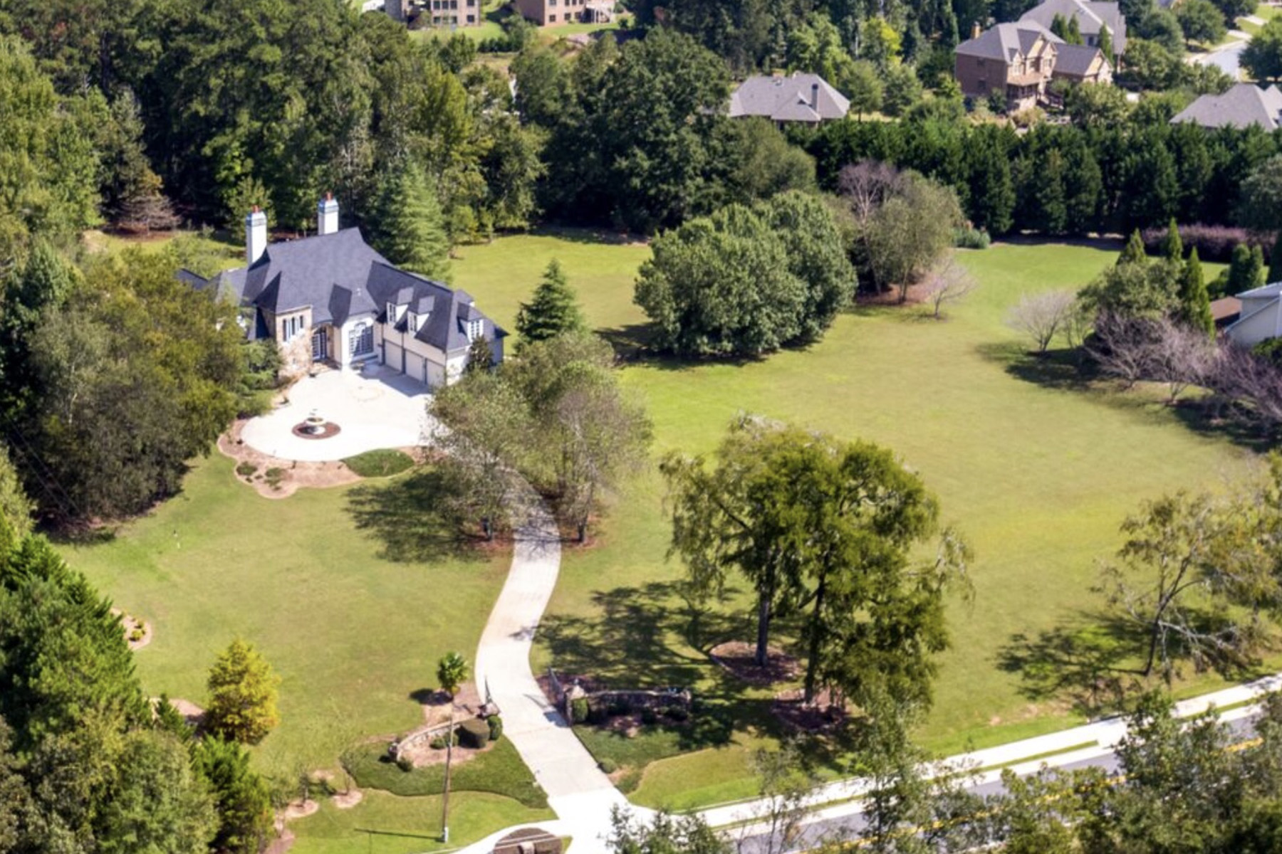 Single Family Home for Sale at Luxury Gated Estate 10987 Rogers Circle Johns Creek, Georgia 30097 United States