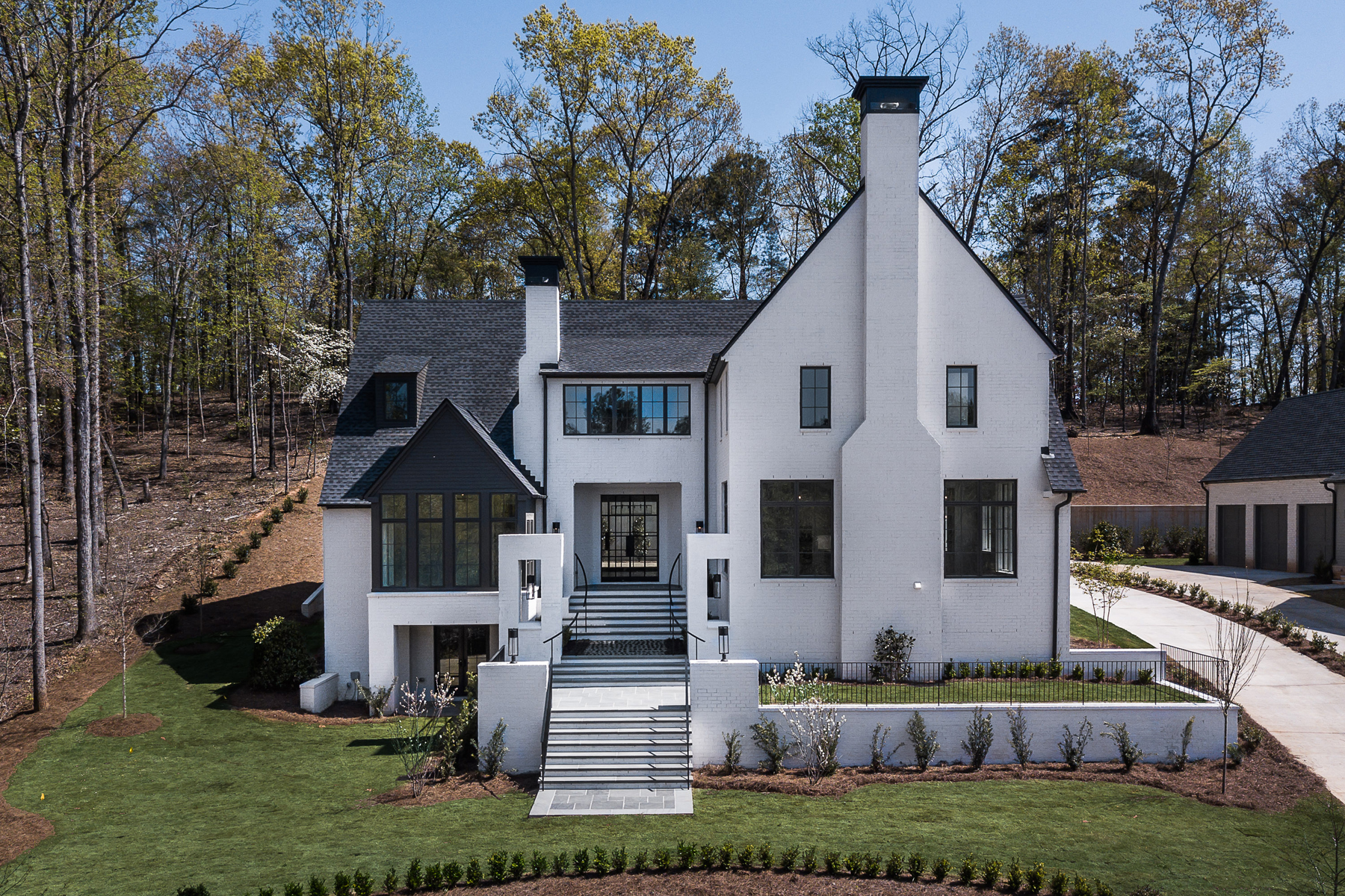 Single Family Home for Sale at Breathtakingly Stunning Custom Built Home In Desirable Sandy Springs Location 1875 Spalding Drive Atlanta, Georgia 30350 United States