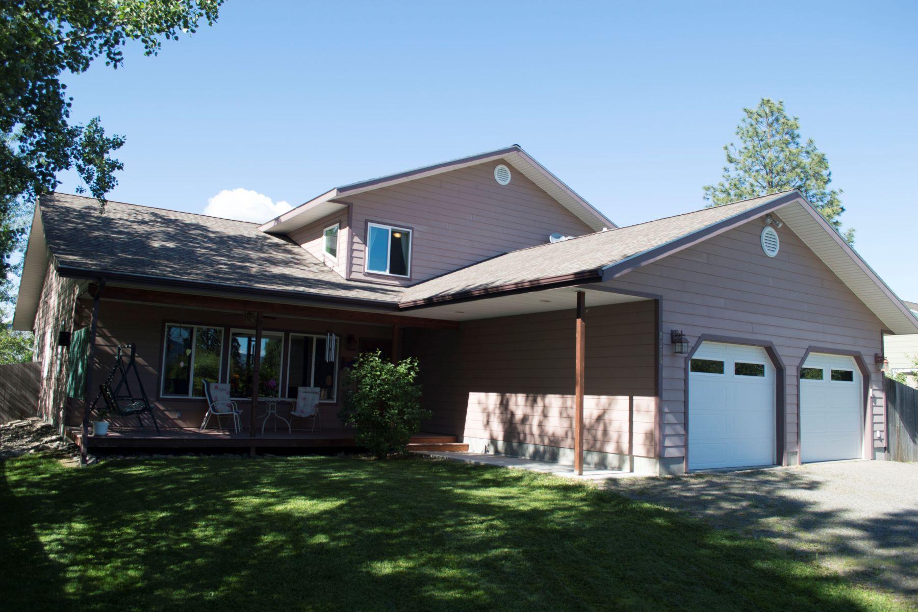 Einfamilienhaus für Verkauf beim Beautifully custom built, partial water view home 1316 Rosedale Way Sandpoint, Idaho, 83864 Vereinigte Staaten