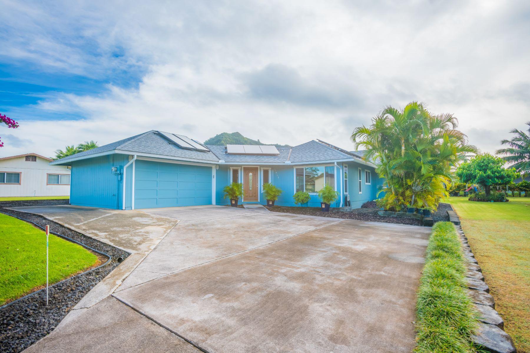 Single Family Home for Sale at 5854 Haaheo Pl. 5854 Haaheo Pl. Kapaa, Hawaii 96746 United States