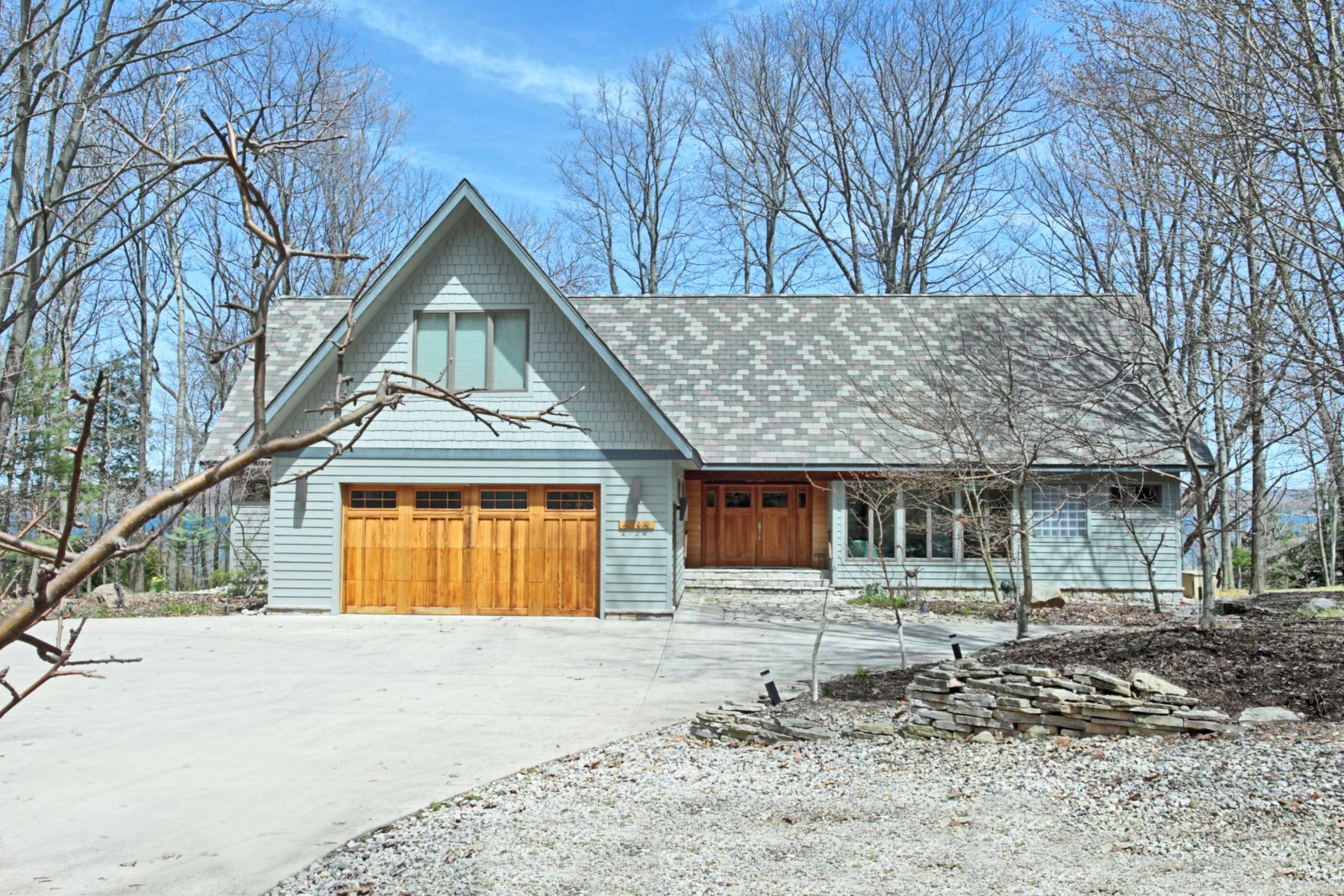 Single Family Homes for Sale at Exclusive Manistee Getaway 2739 Crescent Beach Road Manistee, Michigan 49660 United States