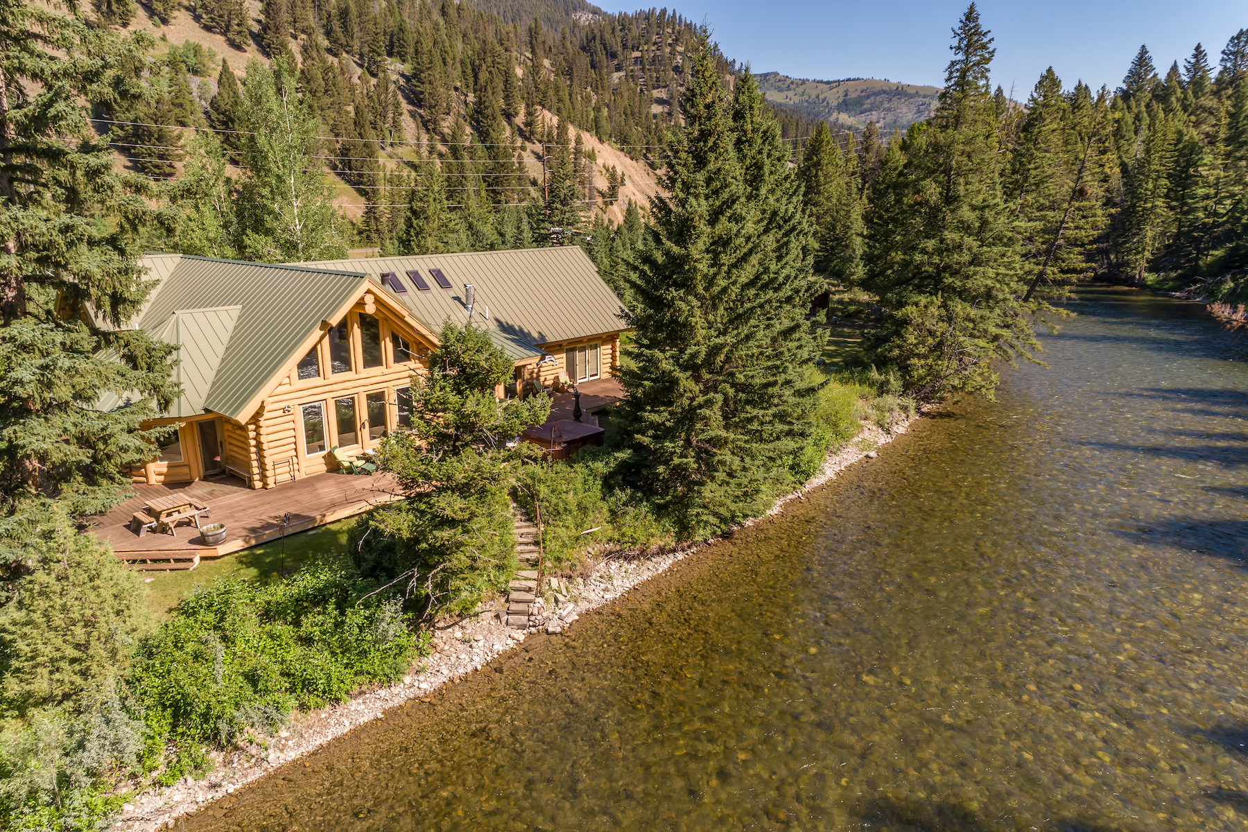 Single Family Homes for Sale at Gallatin River Retreat 49622 Gallatin Road Big Sky, Montana 59730 United States