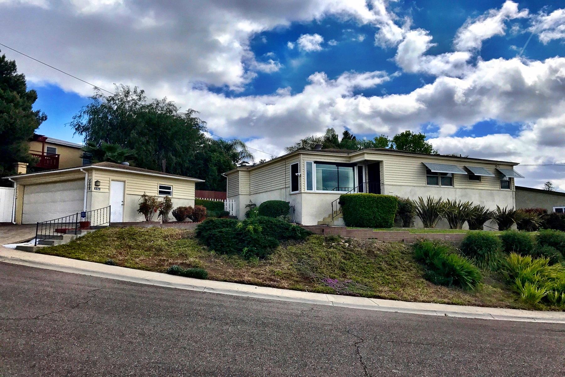 獨棟家庭住宅 為 出售 在 4829 Baylor Drive San Diego, 加利福尼亞州, 92115 美國