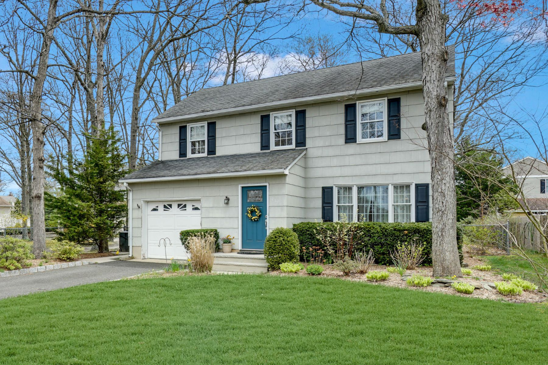 Single Family Homes for Sale at Traditional Colonial 214 Curtis Avenue Point Pleasant, New Jersey 08742 United States