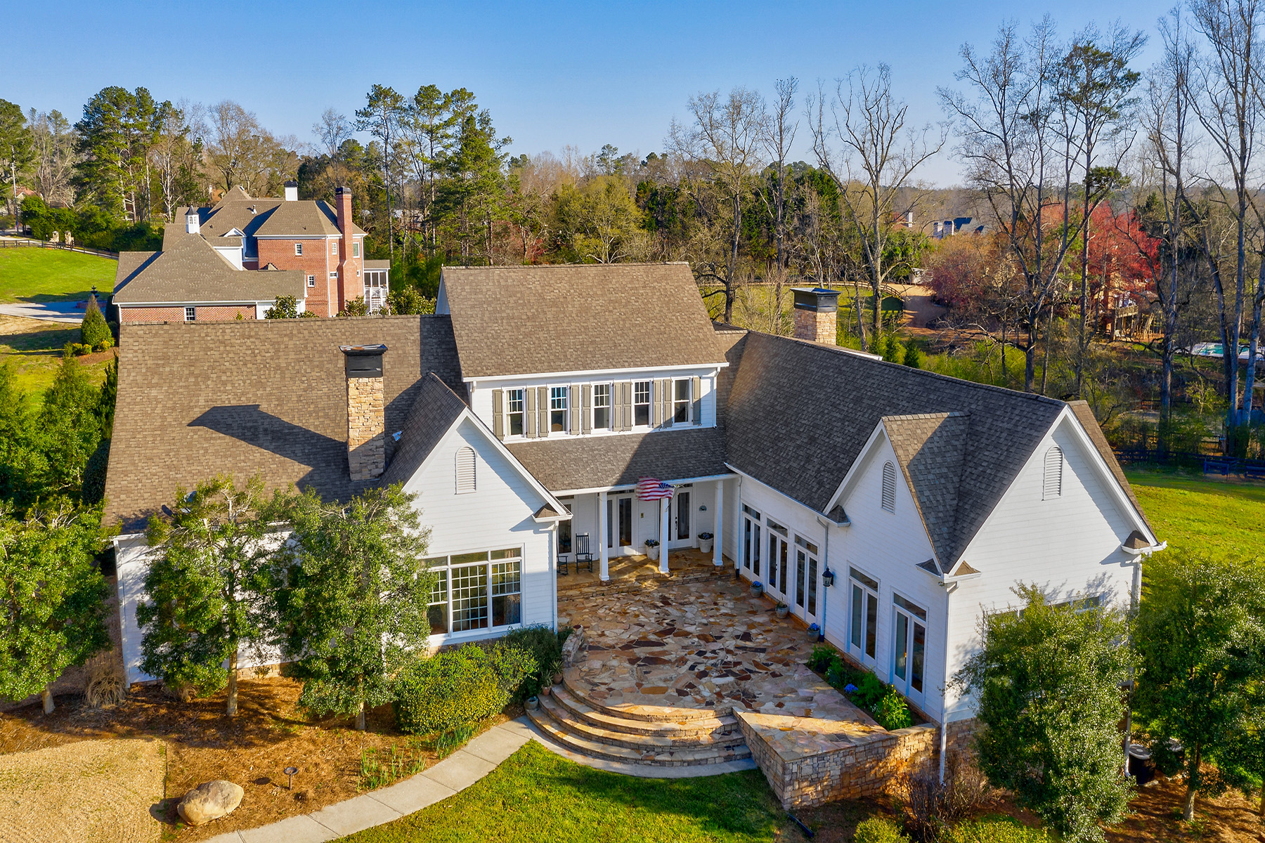 Single Family Homes for Sale at Exceptional Equestrian Property On Coveted Wood Road 14735 Wood Road, Milton, Georgia 30004 United States