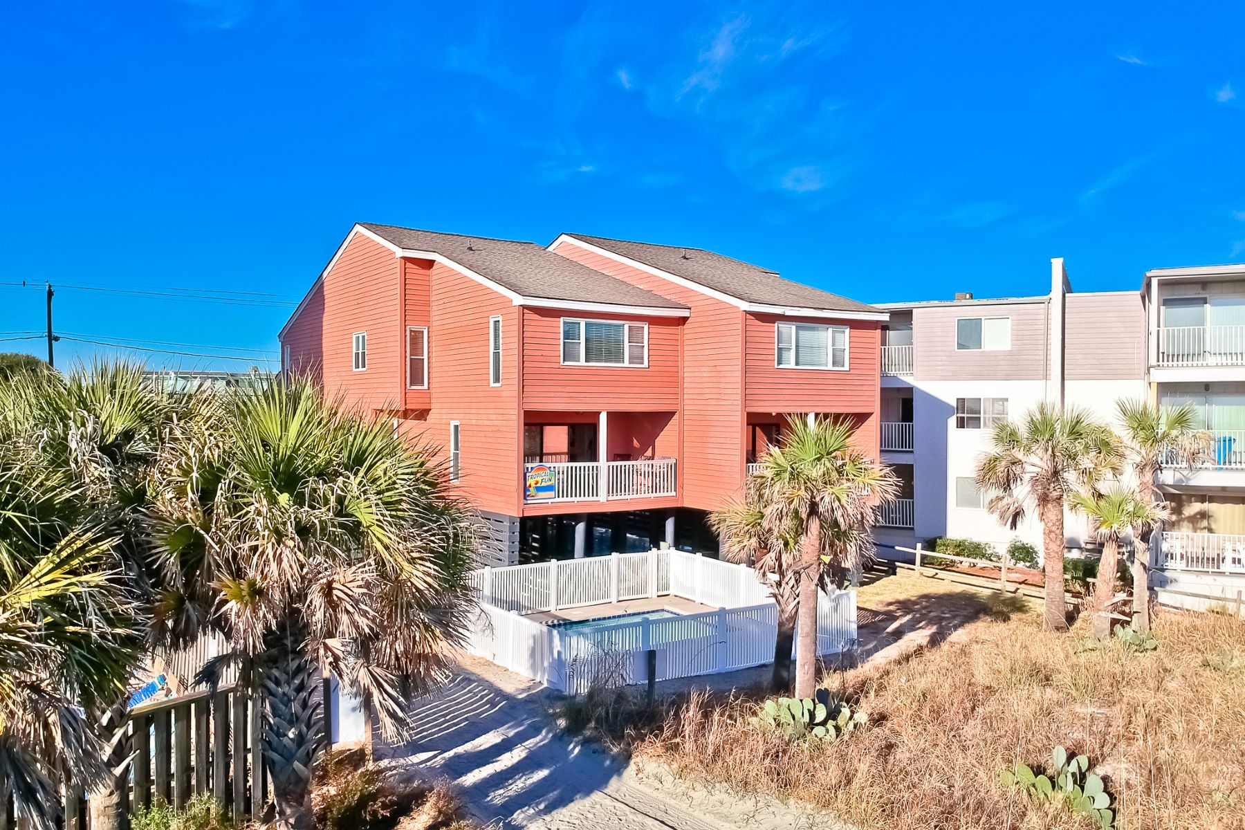 Duplex for Sale at Oceanfront Investment 6300 N. Ocean Blvd, North Myrtle Beach, South Carolina, 29582 United States