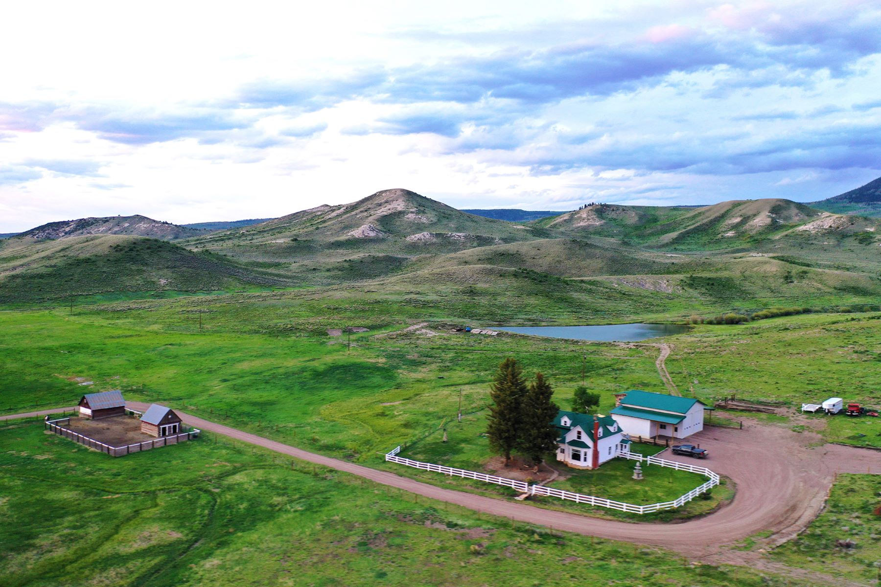 Farm / Ranch / Plantation for Sale at White Hawk Ranch 13400 HWY 131, Yampa, Colorado 80483 United States