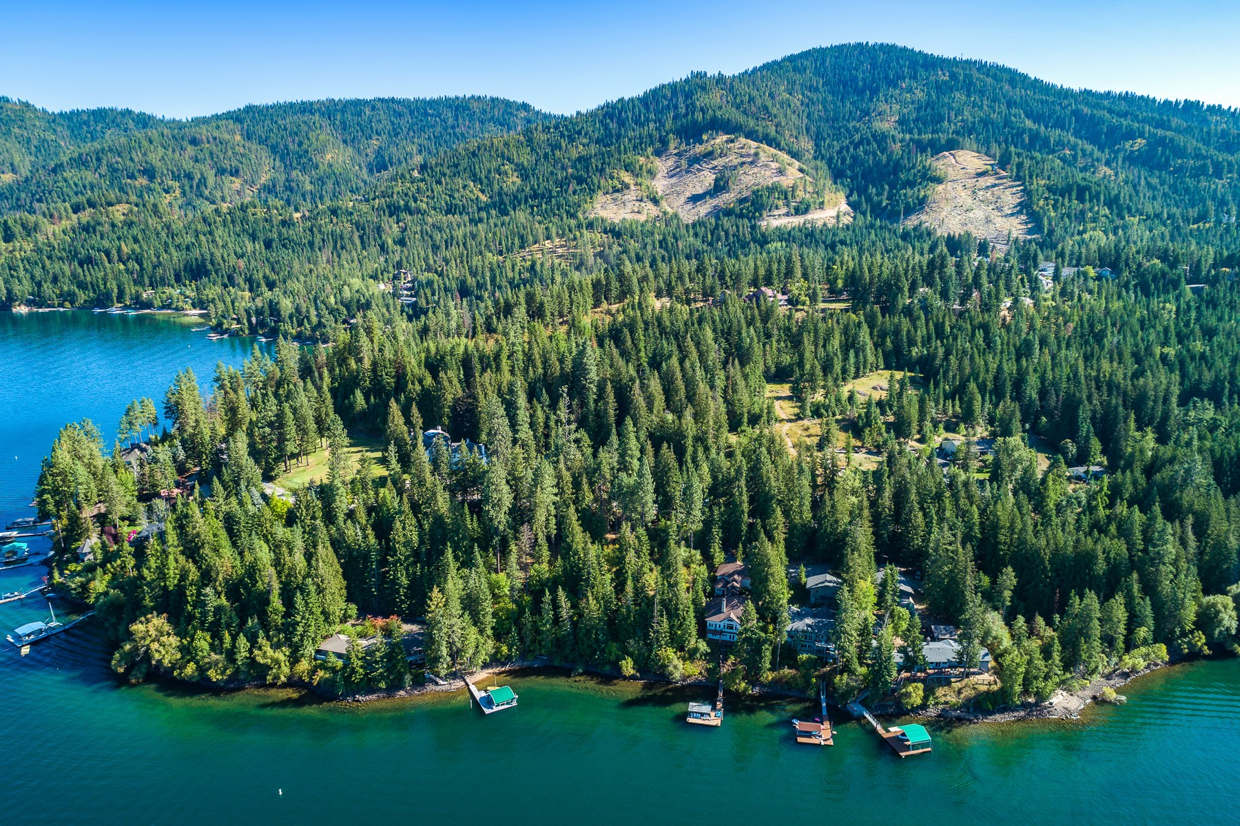 Land for Sale at Close to Town, Private Building Site! 5100 E Hayden Lake Road Hayden, Idaho 83835 United States