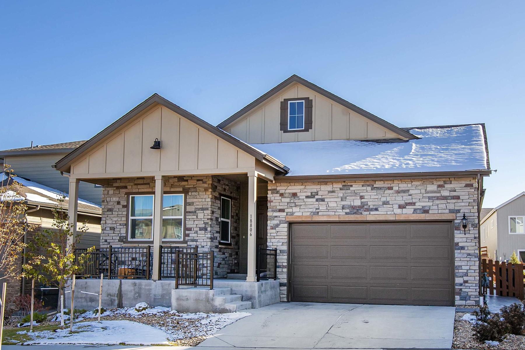 Single Family Homes for Sale at Discover Beautiful Sunrises and Modern Living 18806 W 93rd Arvada, Colorado 80007 United States