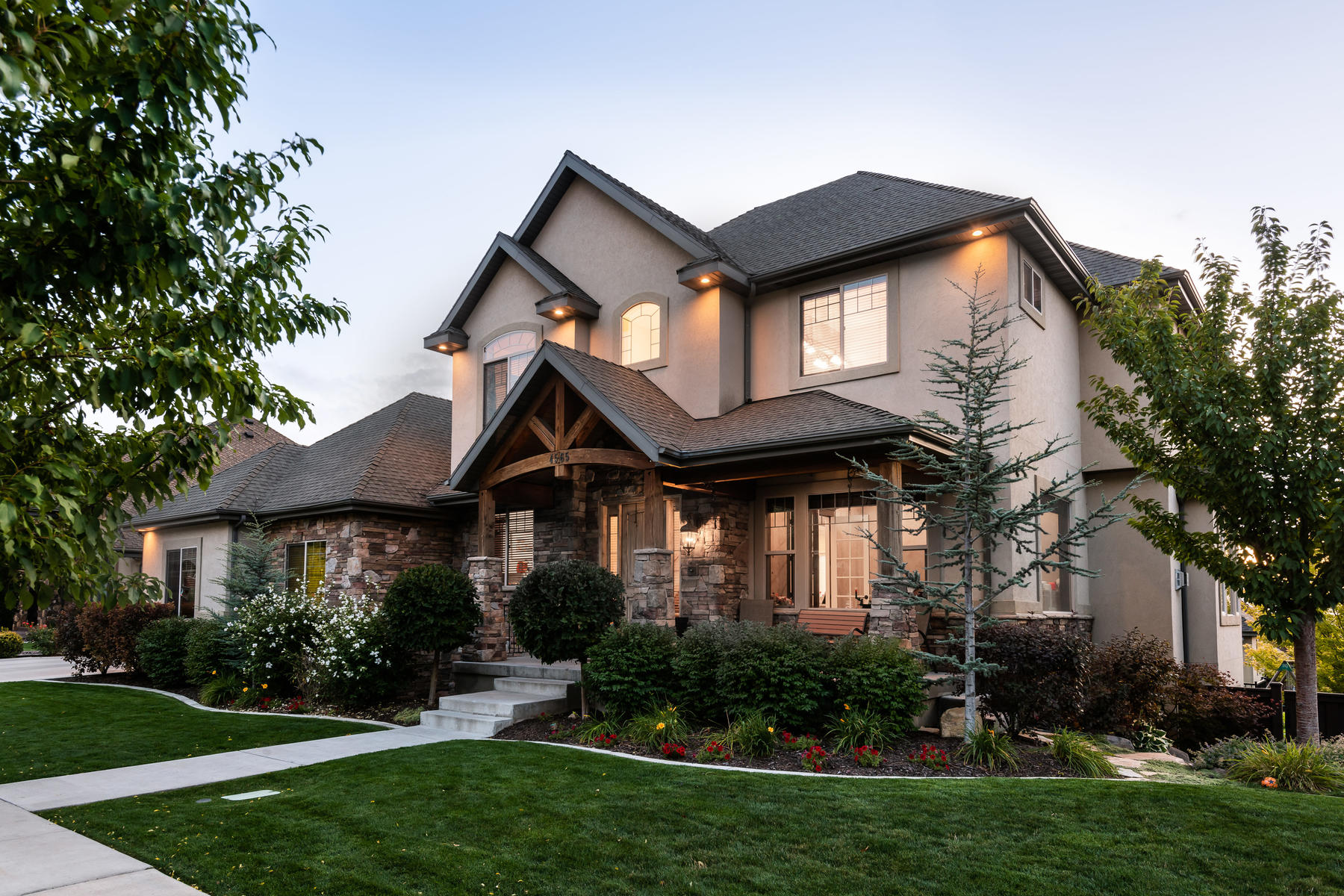 Single Family Homes for Sale at Beautiful Home on the East Bench of Provo 4565 North 475 East, Provo, Utah 84604 United States