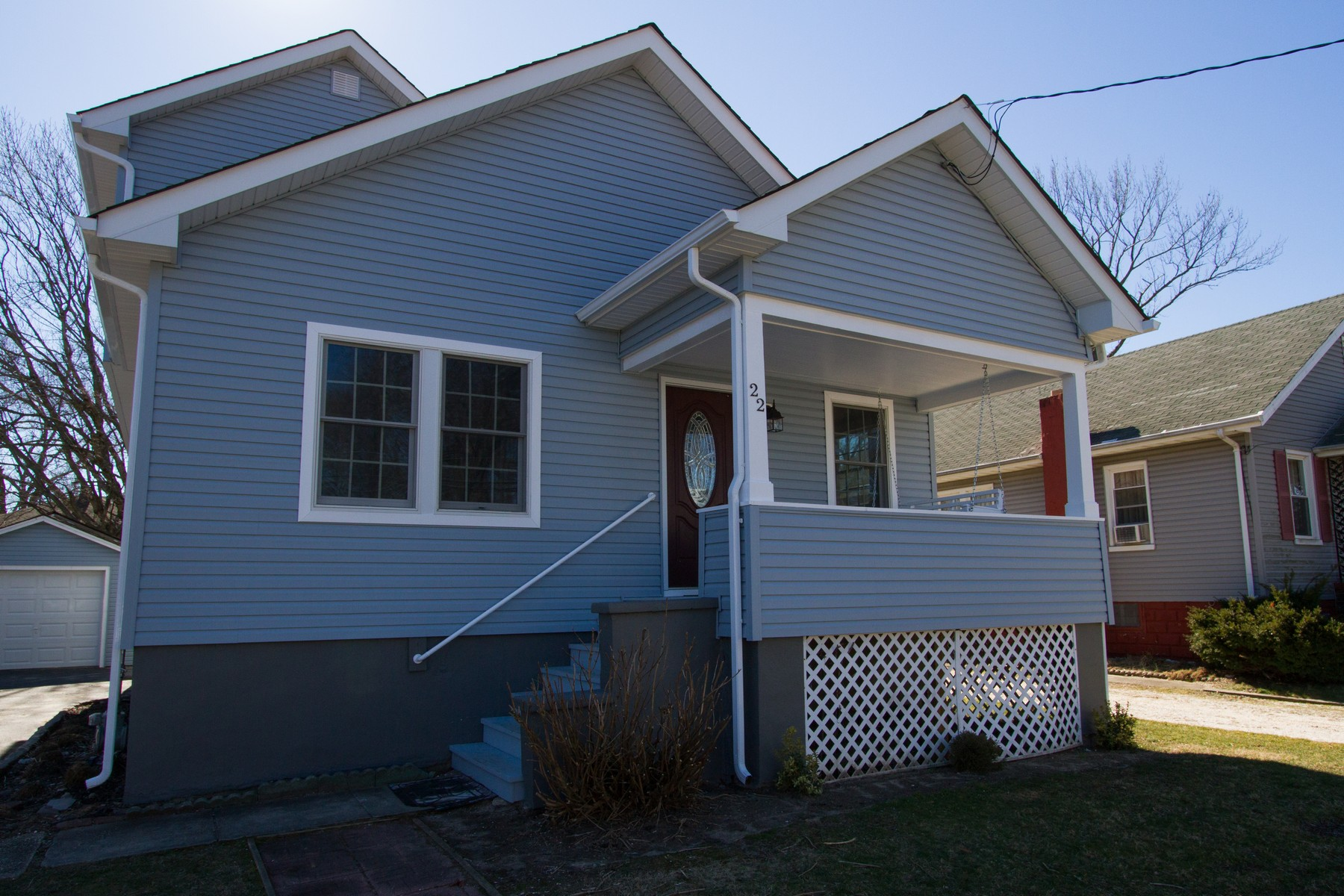 Single Family Home for Sale at Each home needs a proper frame 22 Airsdale Avenue Long Branch, New Jersey 07740 United States