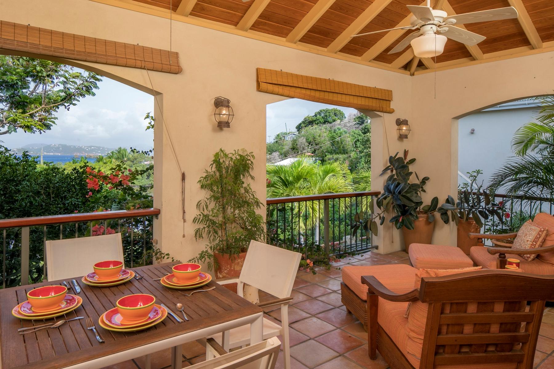 Single Family Homes por un Venta en El Capitan del Sol 201 Estate Contant & Enighed St John, Virgin Islands 00830 Islas Virgenes Ee.Uu.
