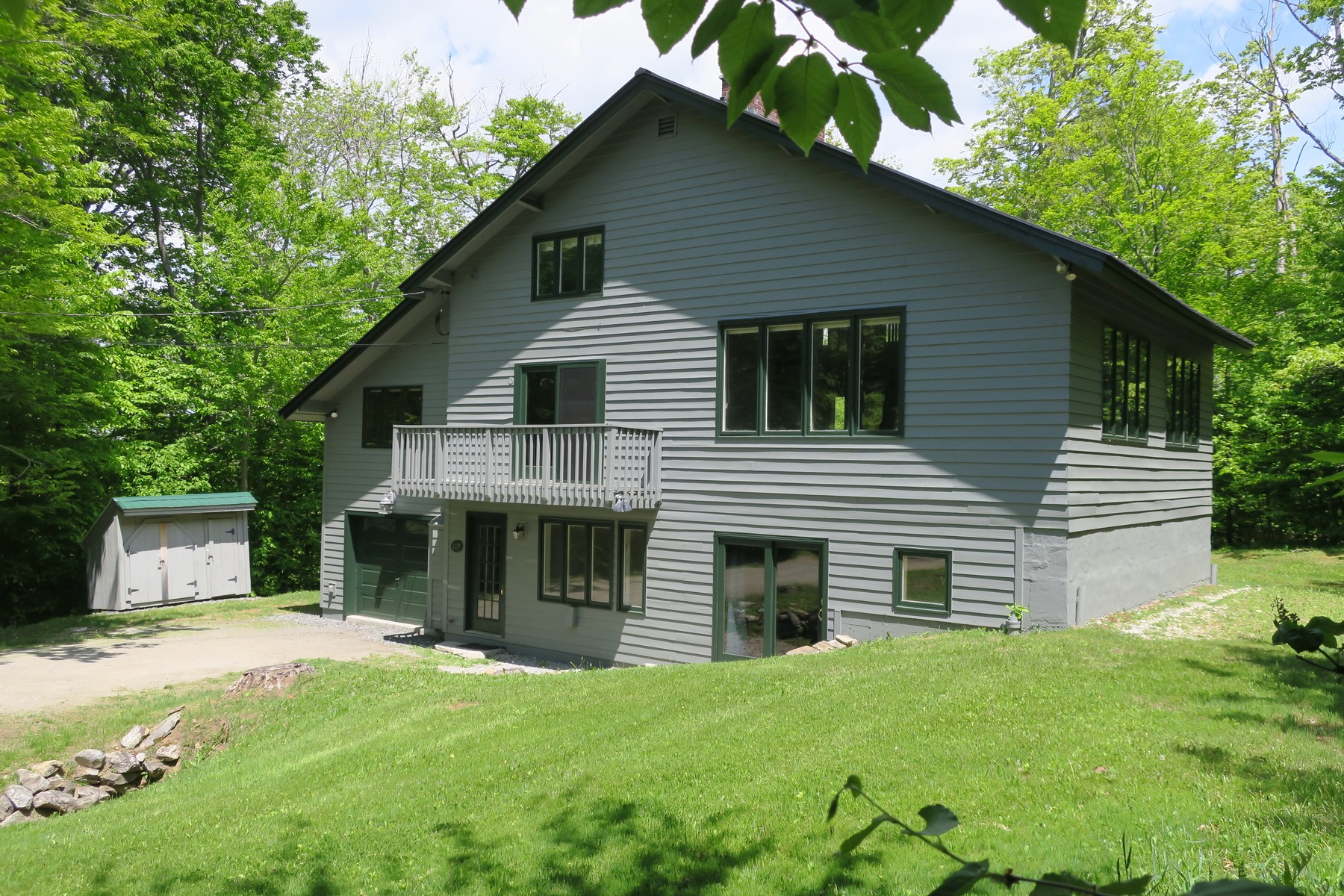 Single Family Homes for Sale at 7 East Round Road in Winhall 7 East Round Road Winhall, Vermont 05340 United States