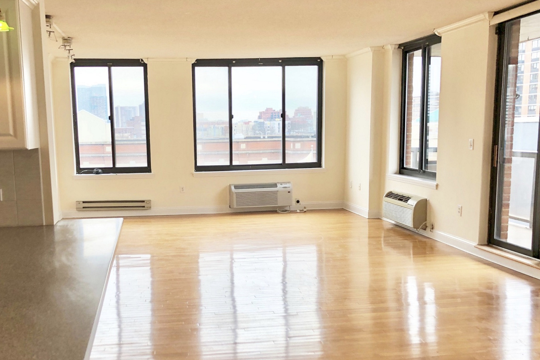 Apartment for Rent at Super spacious 1490 sqft 2 bed, 2 bath in a modern elevator building 415 Newark Street #4E, Hoboken, New Jersey 07030 United States