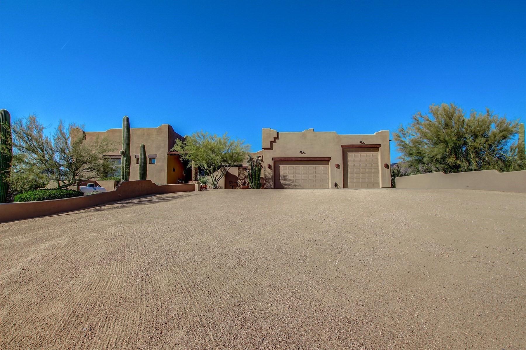一戸建て のために 売買 アット Beautiful custom home with breathtaking views 6602 E LONE MOUNTAIN RD N Cave Creek, アリゾナ, 85331 アメリカ合衆国