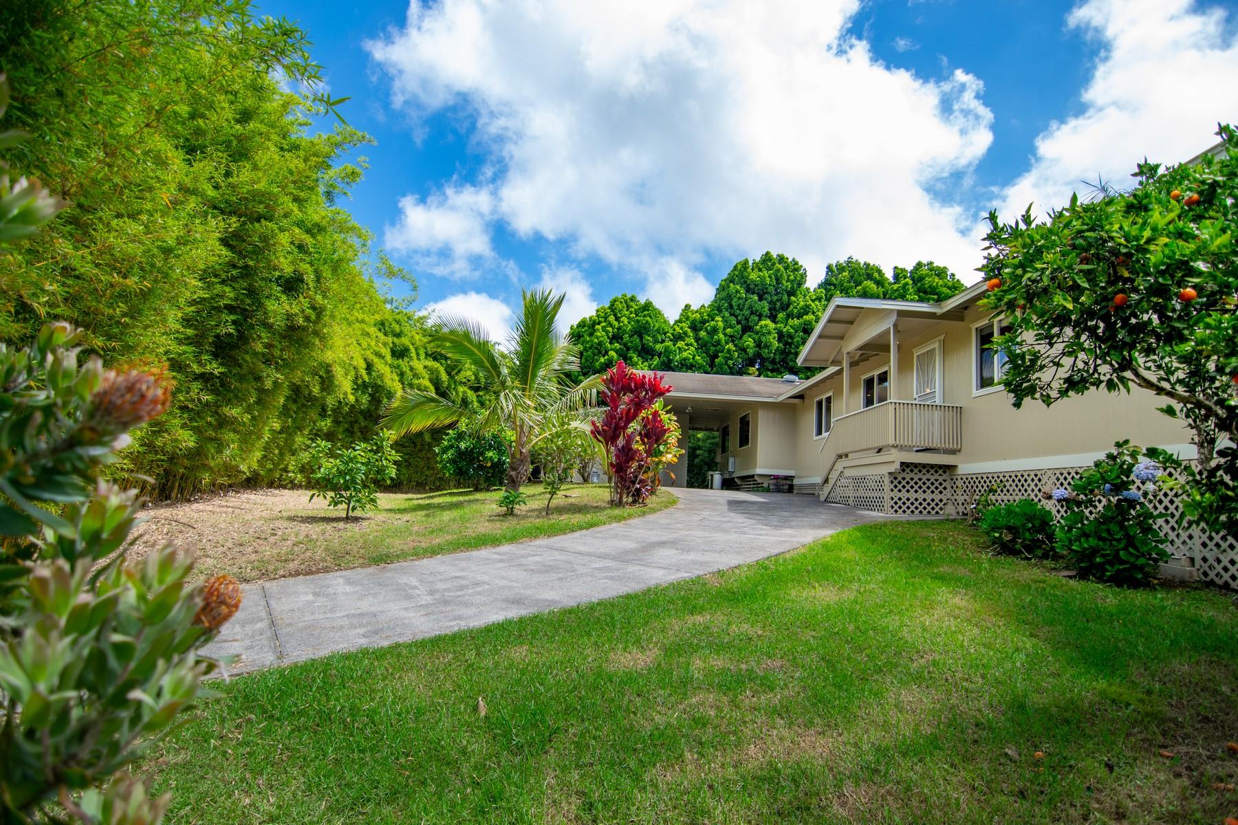 一戸建て のために 売買 アット Private Backyard Oasis 67 Ainakula Road Kula, ハワイ 96790 アメリカ合衆国