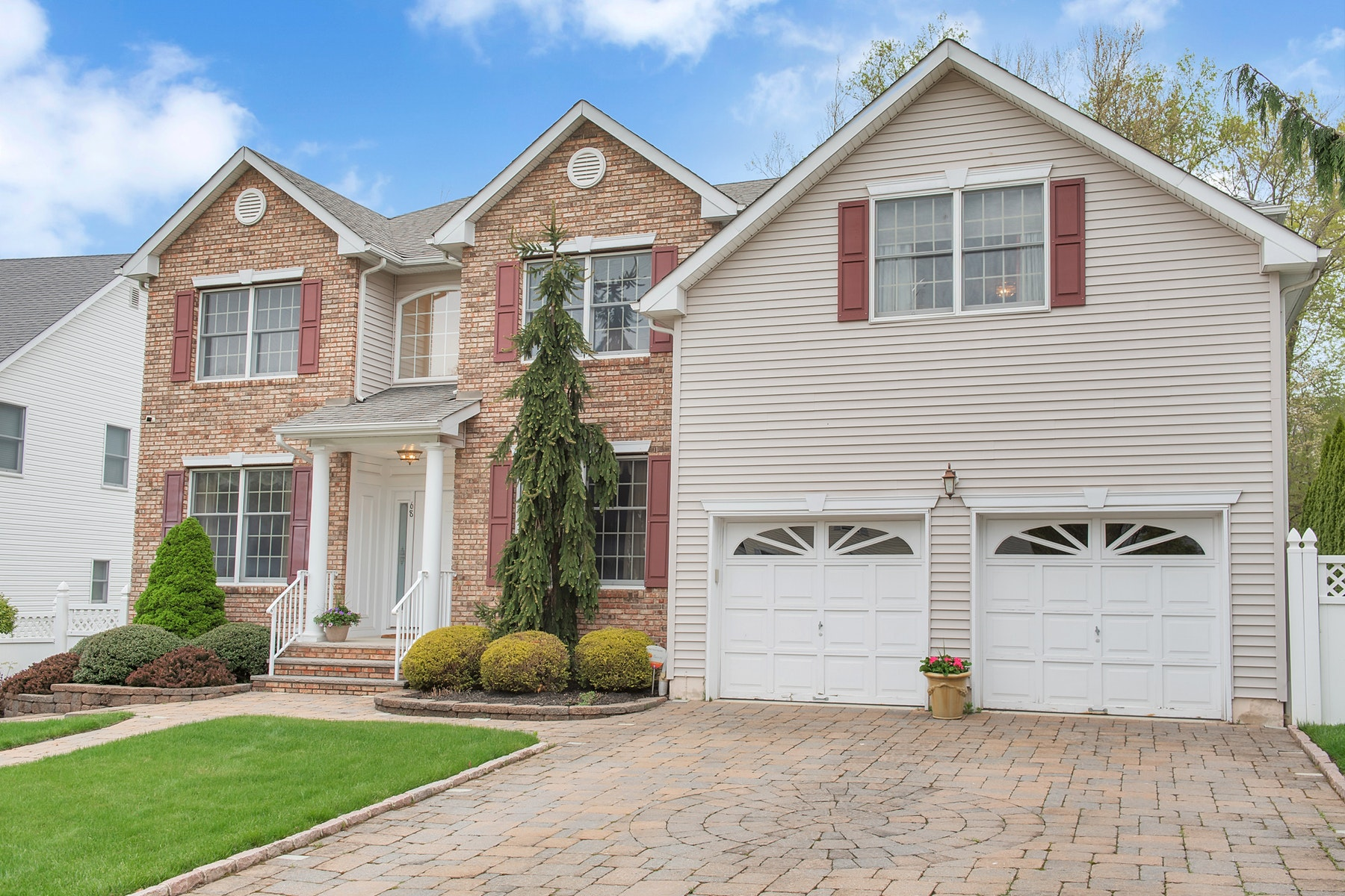 Single Family Homes for Active at Stunning Colonial 68 Terrace Avenue West Orange, New Jersey 07052 United States