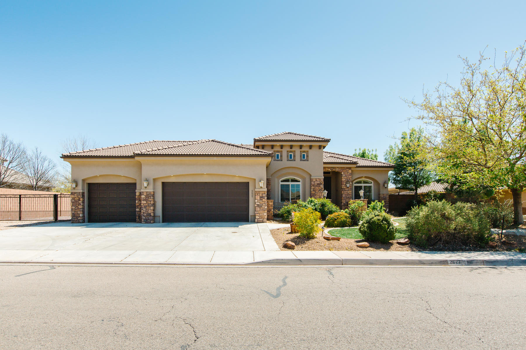 Single Family Homes for Sale at A Rare Gem 2627 South 2350 East St St. George, Utah 84790 United States
