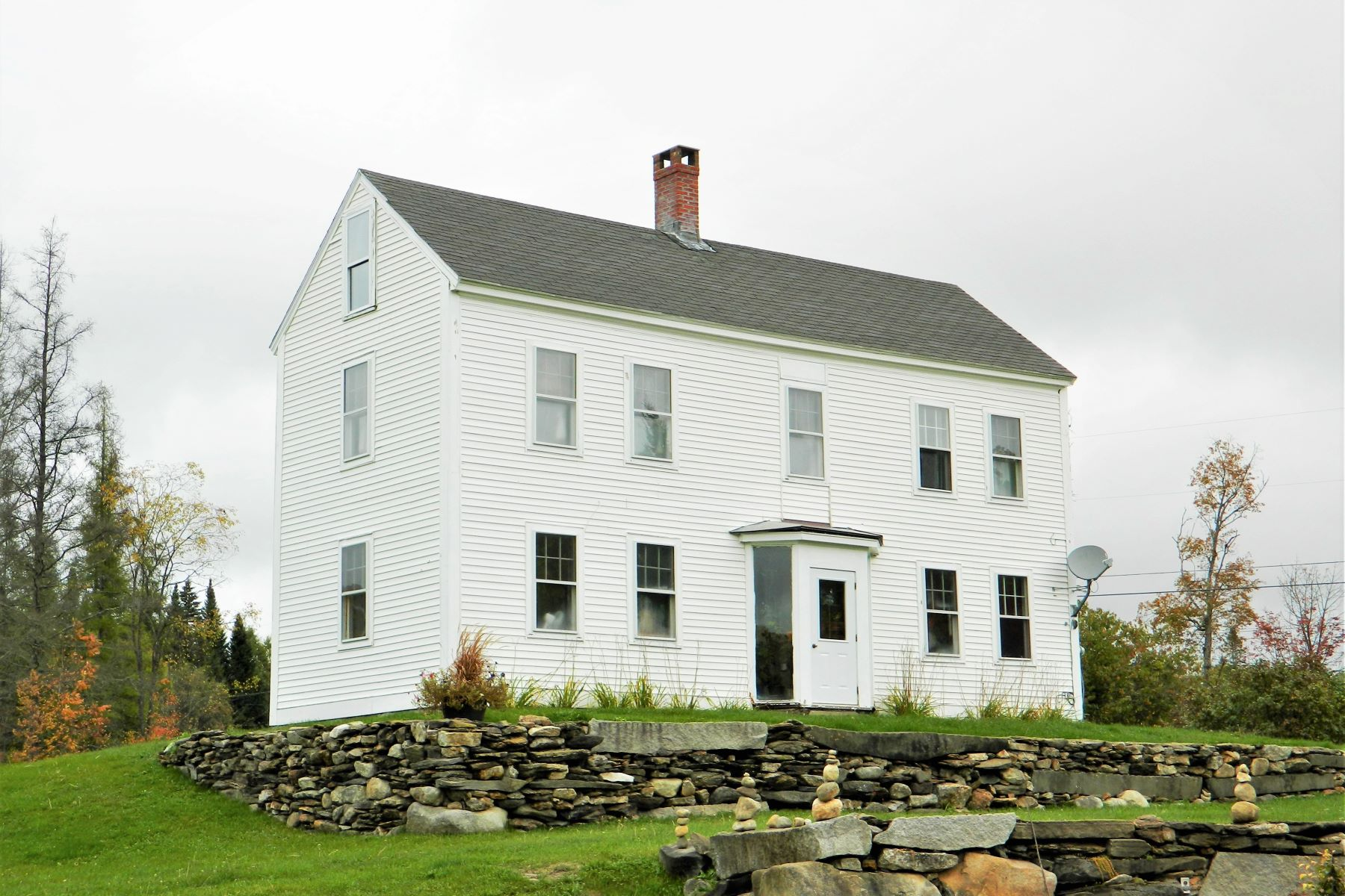 Single Family Homes for Sale at Three Bedroom Colonial in Vershire 876 Mciver Rd Vershire, Vermont 05079 United States