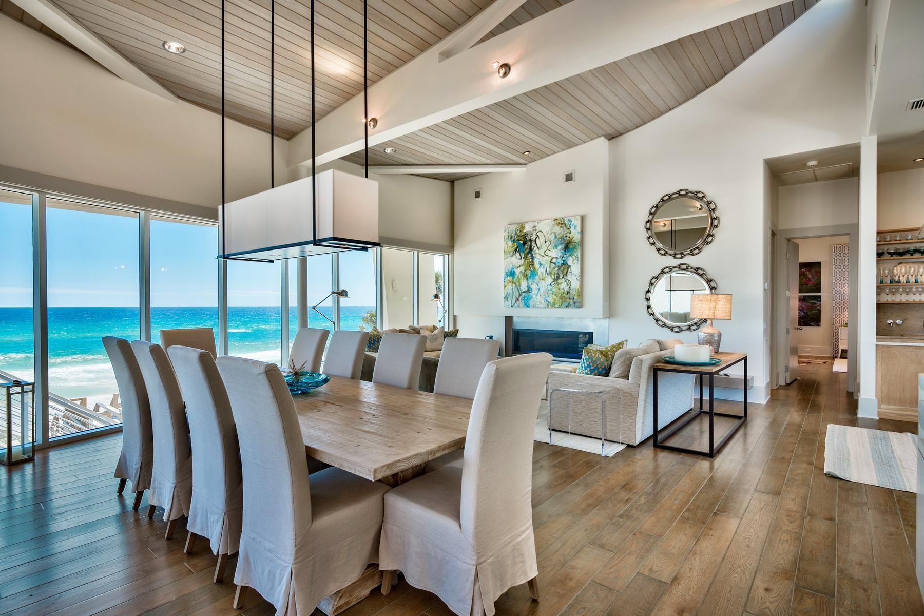 一戸建て のために 売買 アット GULF FRONT MASTERPIECE PROFILED IN COASTAL LIVING MAGAZINE 125 Gulf Dunes Lane Santa Rosa Beach, フロリダ, 32459 アメリカ合衆国