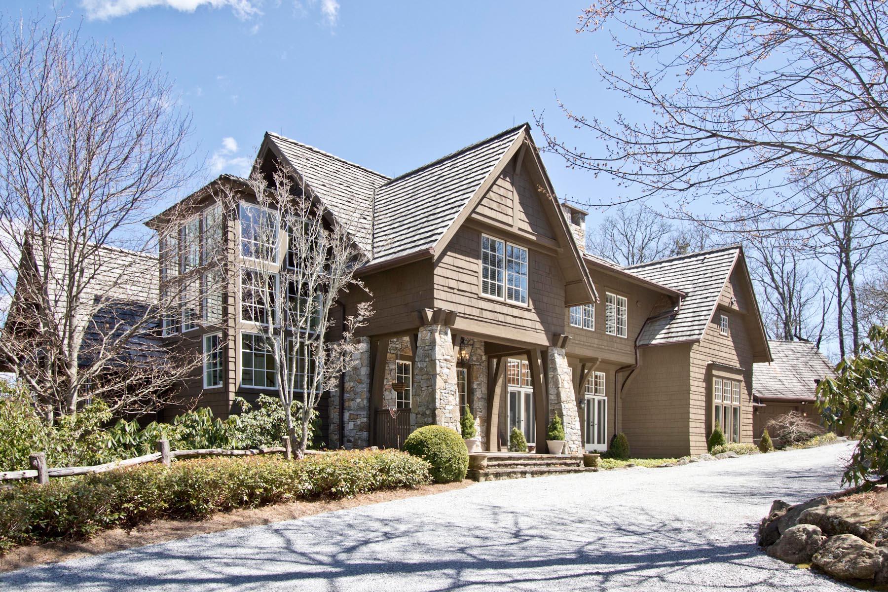Частный односемейный дом для того Продажа на 90 Fodderstack Road Highlands, Северная Каролина, 28741 Соединенные Штаты