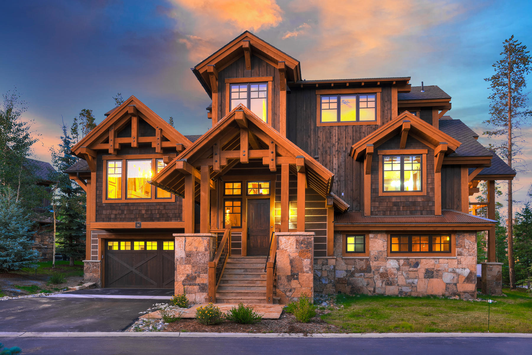 Single Family Homes for Sale at Mountain Getaway in Shock Hill 24 Regent Drive Breckenridge, Colorado 80424 United States