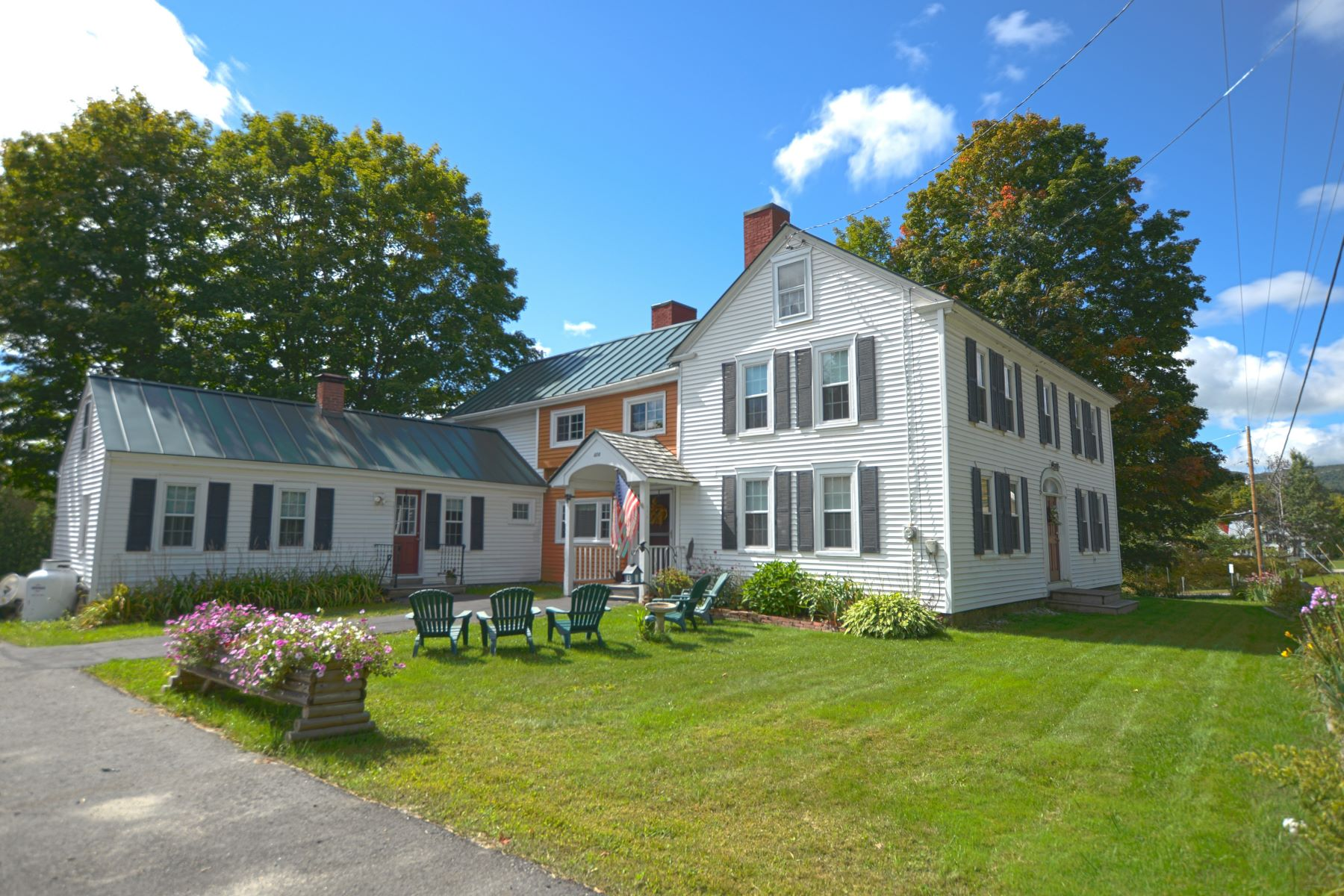 Single Family Home for Sale at Four Bedroom Colonial in West Topsham 474 Vt Route 25 Route Topsham, Vermont 05076 United States