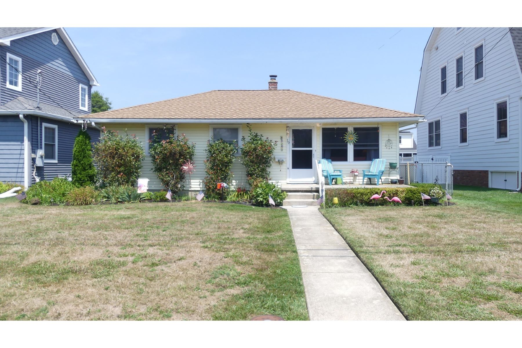 Single Family Homes for Sale at Riviera Rancher 19 Spruce Road Ocean City, New Jersey 08226 United States