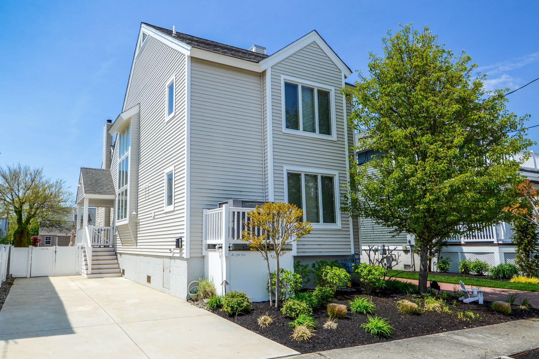Casa unifamiliar adosada (Townhouse) por un Venta en Savvy Stone Harbor Townhome 247 87th Street Unit A, Stone Harbor, Nueva Jersey 08247 Estados Unidos
