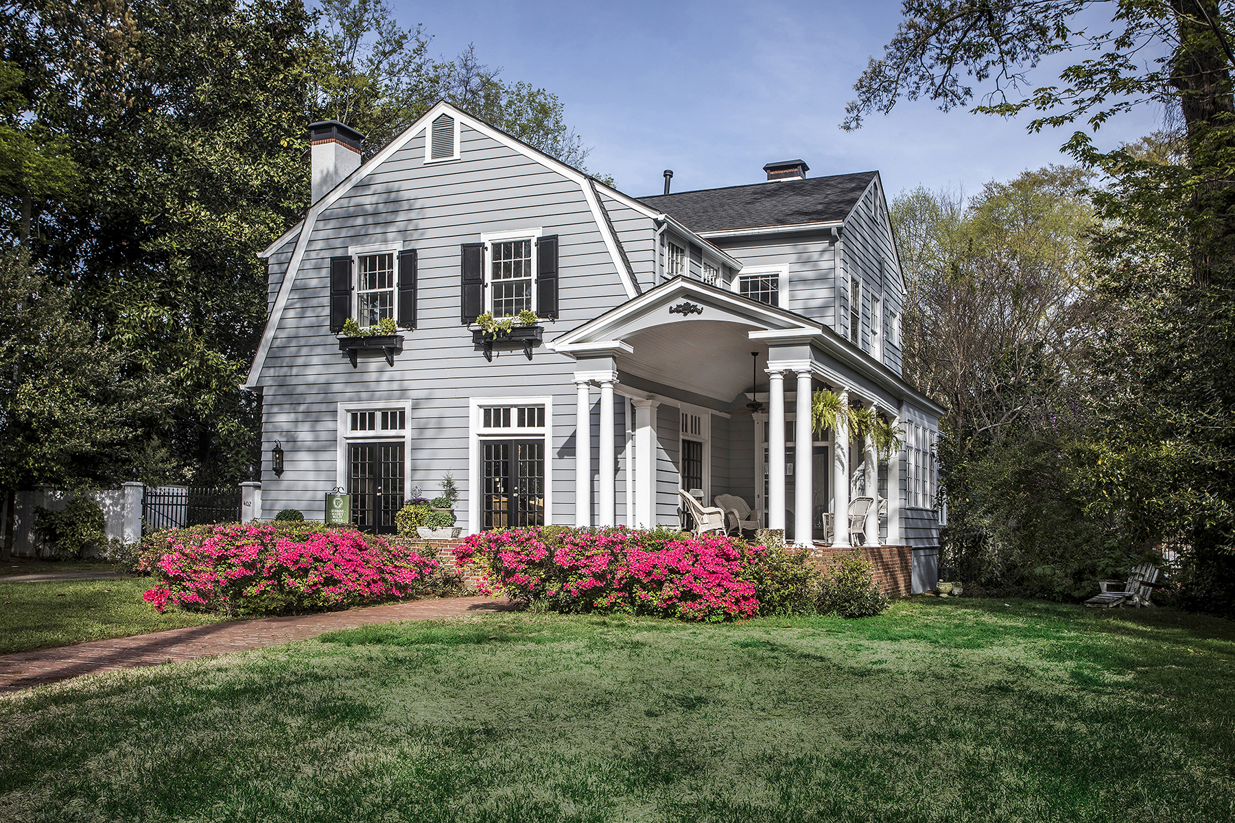 Single Family Home for Sale at A Historic Marietta Classic 402 Cherokee Street NE Marietta, Georgia 30060 United States