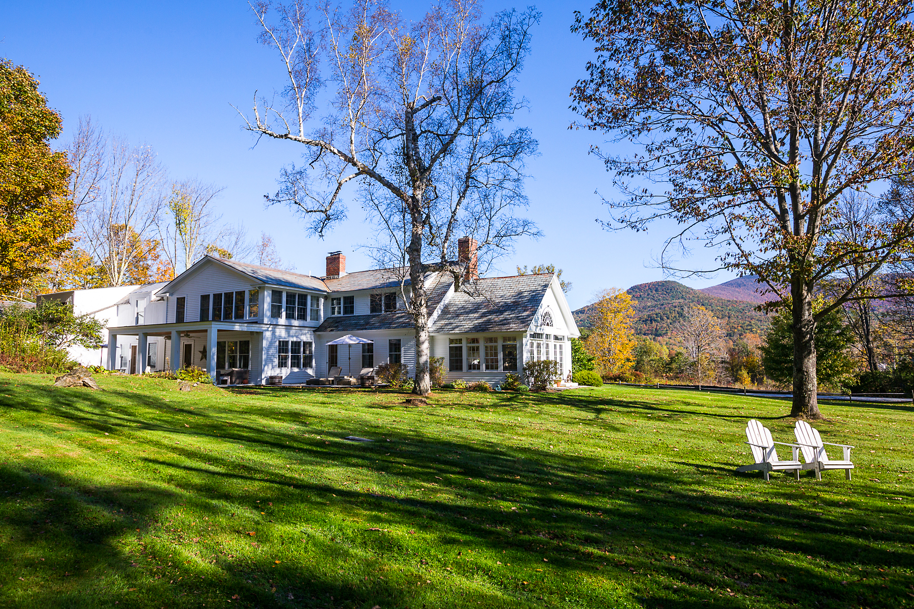Single Family Home for Sale at Magnificent Farmhouse 279 Foote Rd Dorset, Vermont 05251 United States