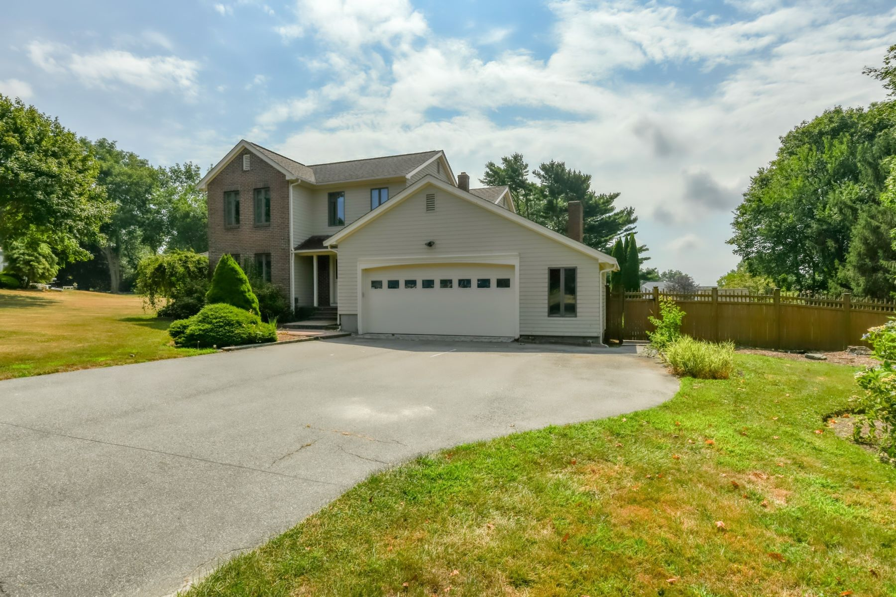 Additional photo for property listing at Quiet Colonial with Backyard Pool 48 Island View Drive Tiverton, Rhode Island 02878 United States