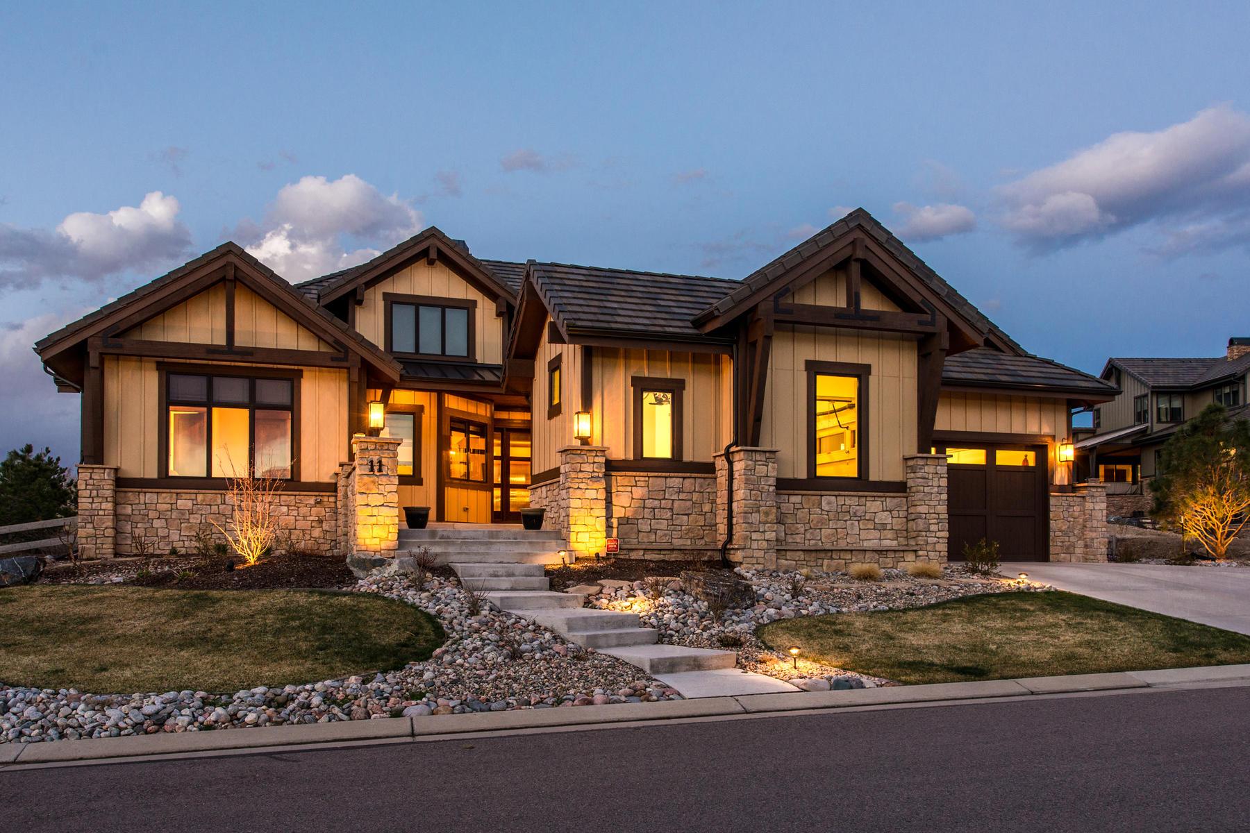 Einfamilienhaus für Verkauf beim The moment you enter this STUNNING Home you feel the quality! 11 Flowerburst Way, Backcountry, Highlands Ranch, Colorado, 80126 Vereinigte Staaten