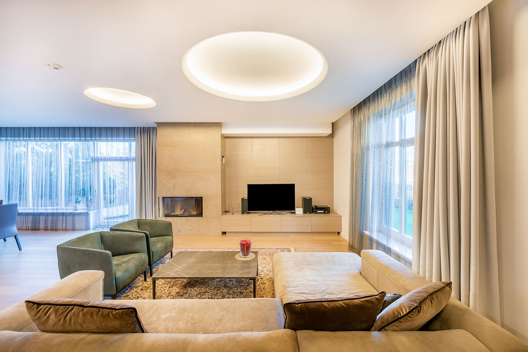 Single Family Home for Sale at A Semi-detached House of Modern Interior Vilnius, Vilnius County, Lithuania