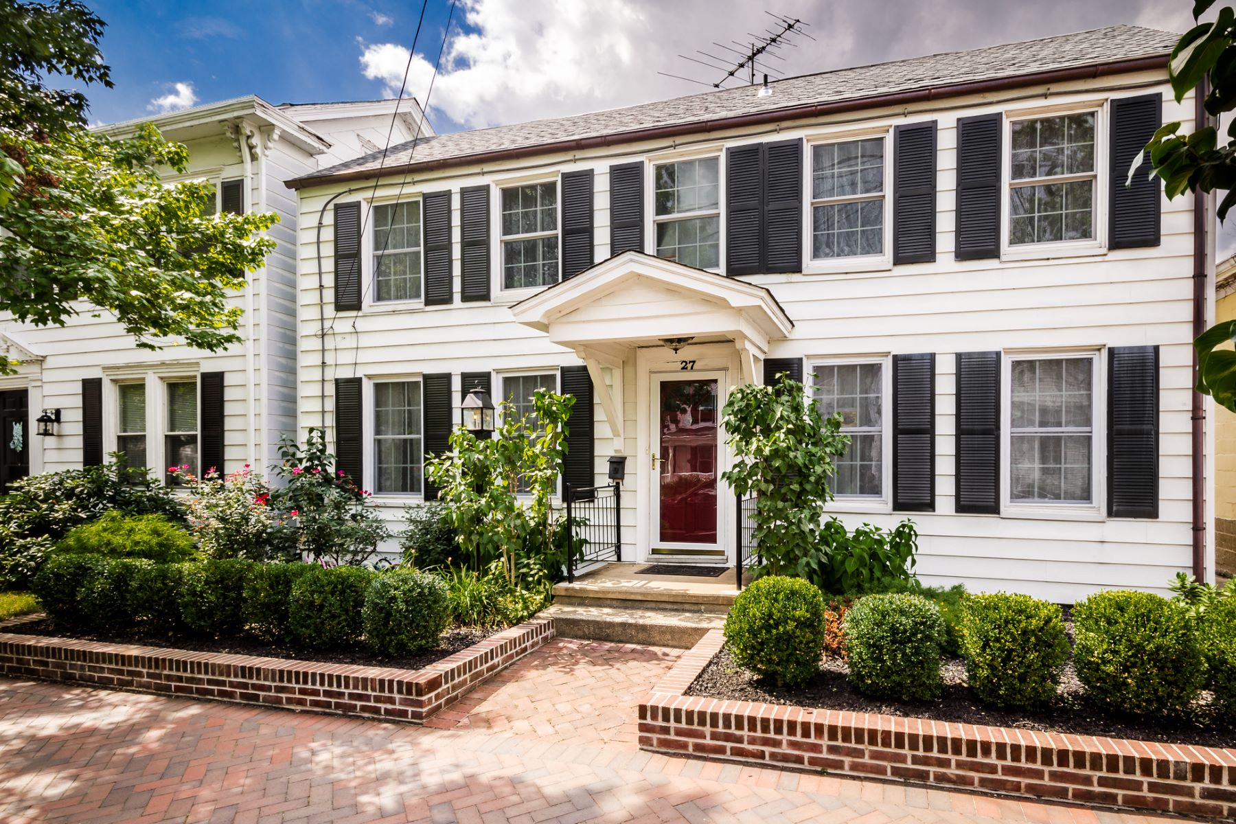 Single Family Home for Sale at Quintessential Main Street 27 North Main Street Cranbury, New Jersey 08512 United States