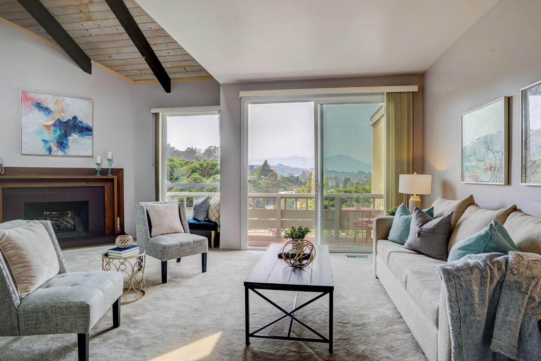 townhouses pour l Vente à Location, Views and Value 43 Marin Ave, Sausalito, Californie 94965 États-Unis
