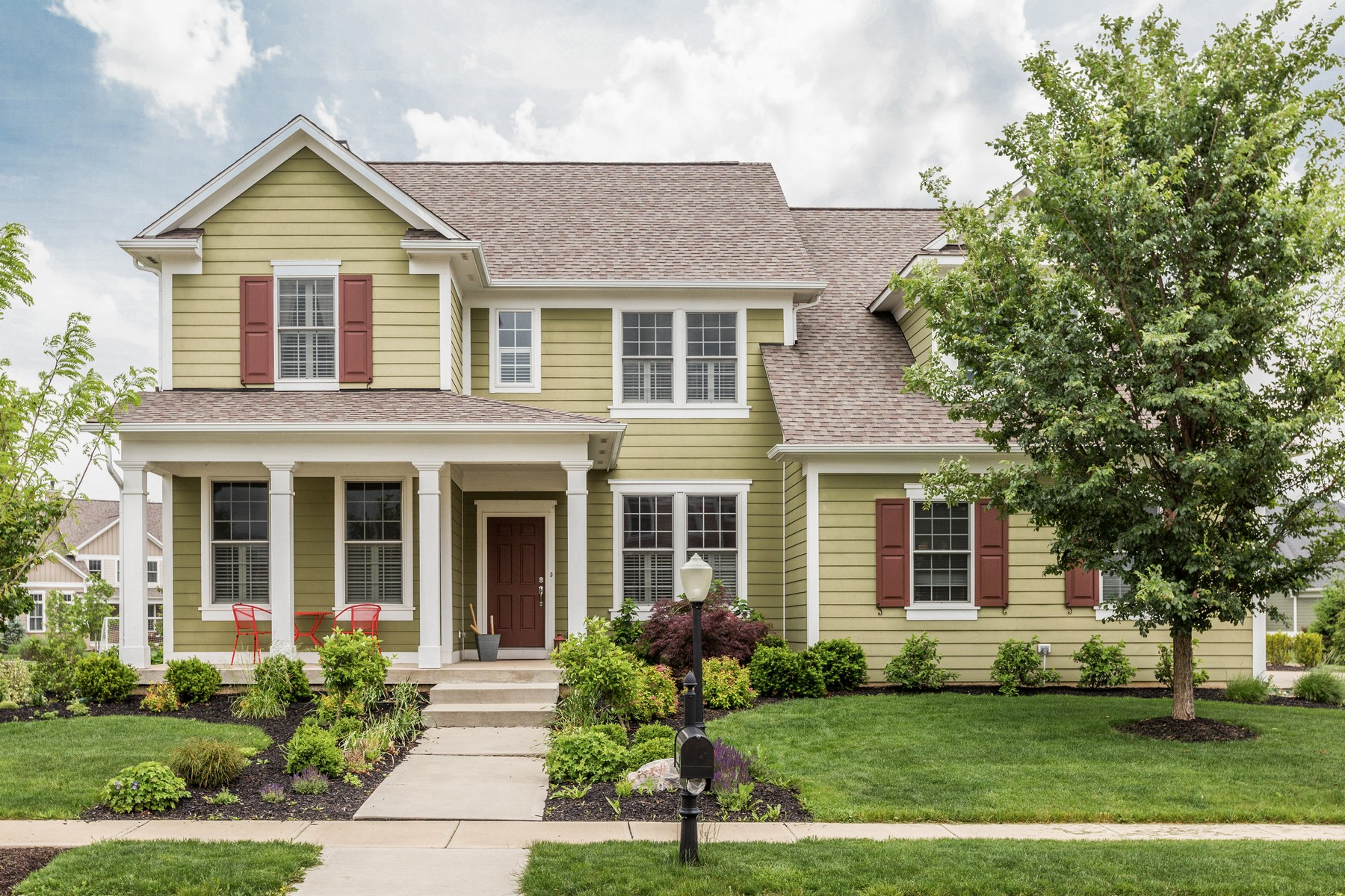 Single Family Home for Sale at Lovely Village of WestClay Home 13265 Birkenhead Street Carmel, Indiana 46032 United States