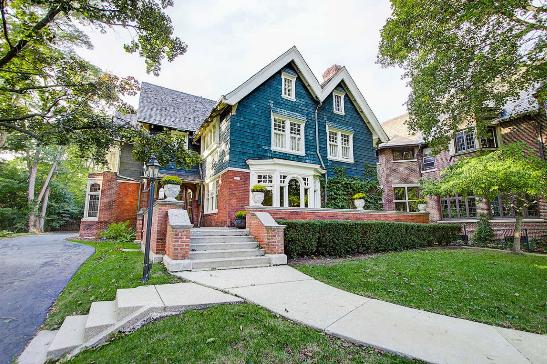 Single Family Home for Sale at Spectacular updates in a classic setting 2239 N. Terrace Avenue Milwaukee, Wisconsin 53202 United States