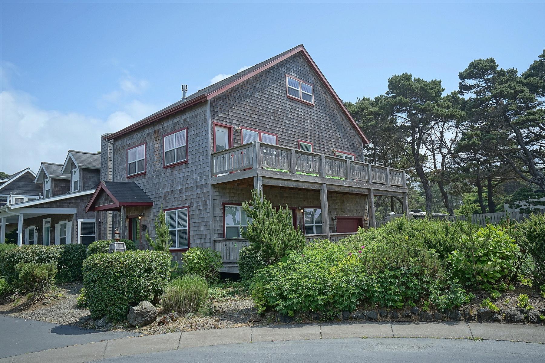 Single Family Homes pour l Vente à 388 Bella Beach Drive, Depoe Bay, Oregon 97341 États-Unis
